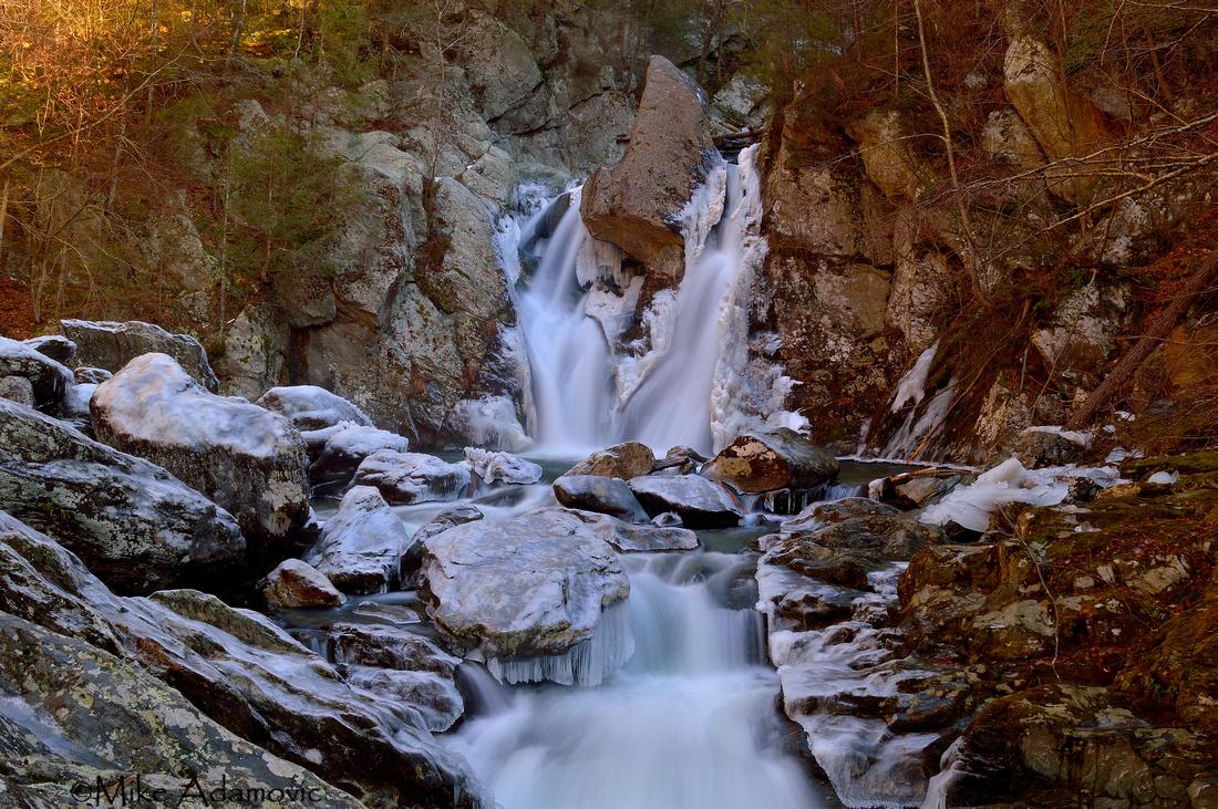 Icy Bash Bish Falls