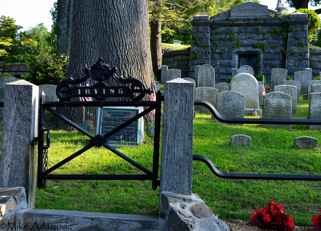Irving's Grave