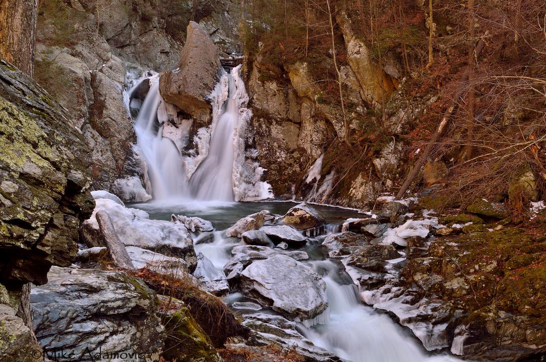 Bash Bish Falls (Winter)